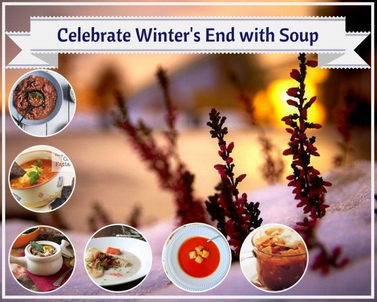 It's still cold here. Still perfect soup weather.