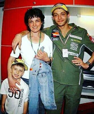 Luca,Mom (Stefania) & Vale