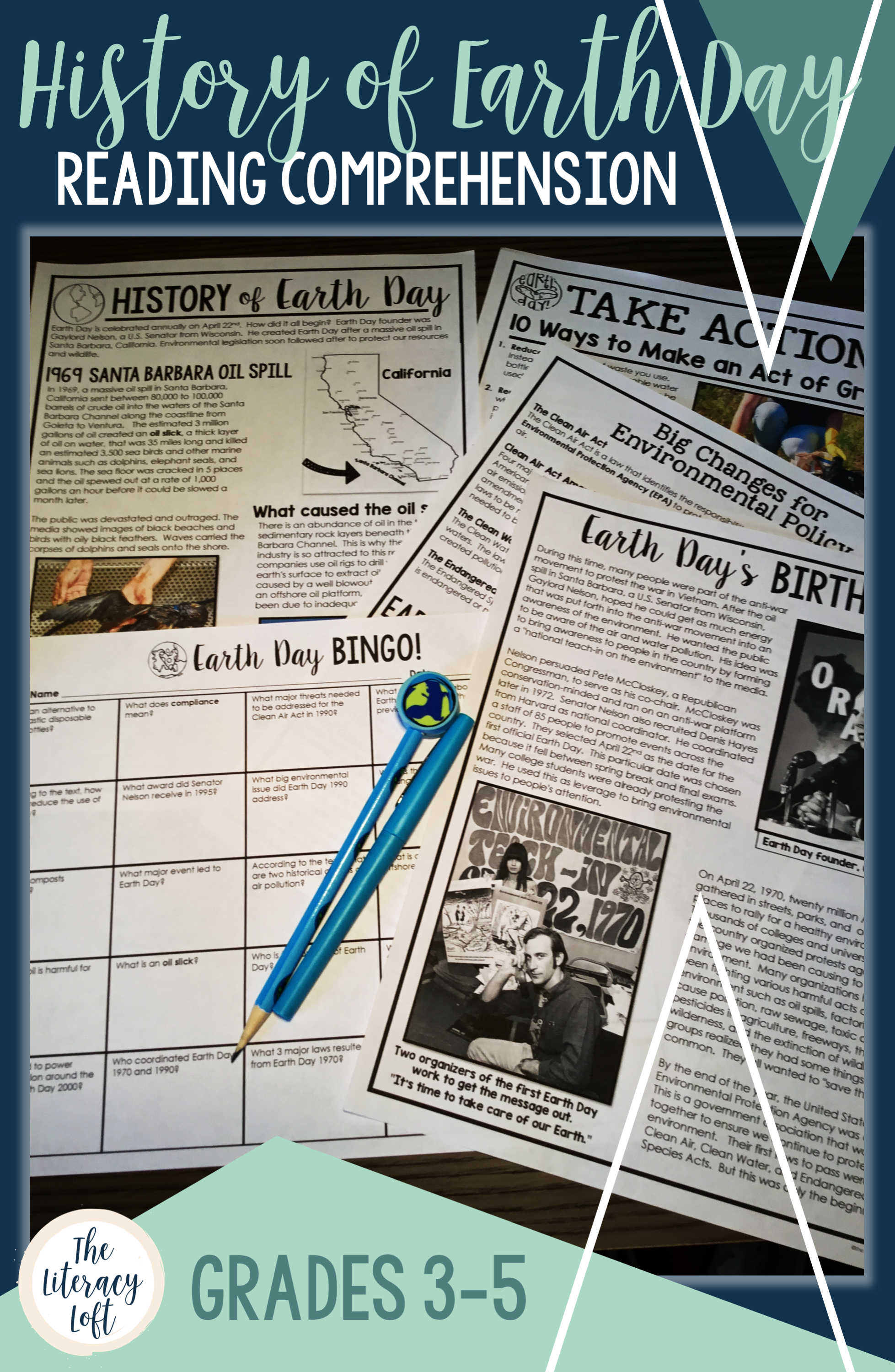 History Of Earth Day Reading