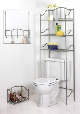 Creative Bath 3 Piece Bath Ensembl Over Toilet Storage Complete