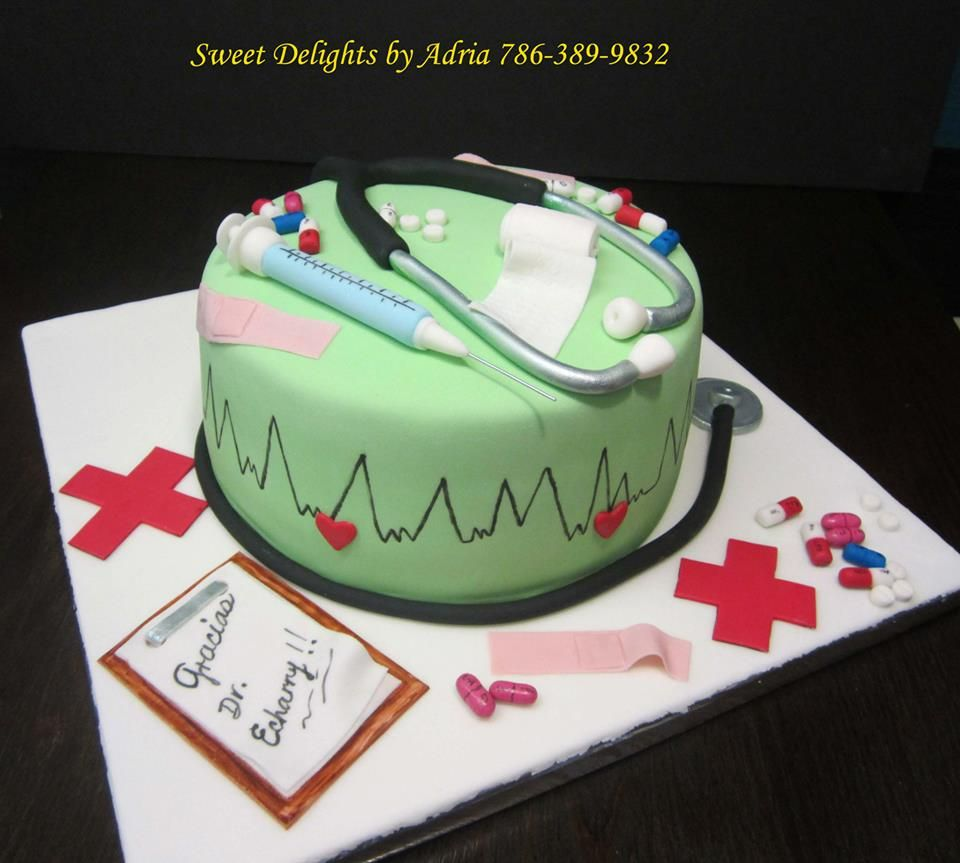 Doctors Cakes Sweetdelights by Adria .Customs Cakes ...