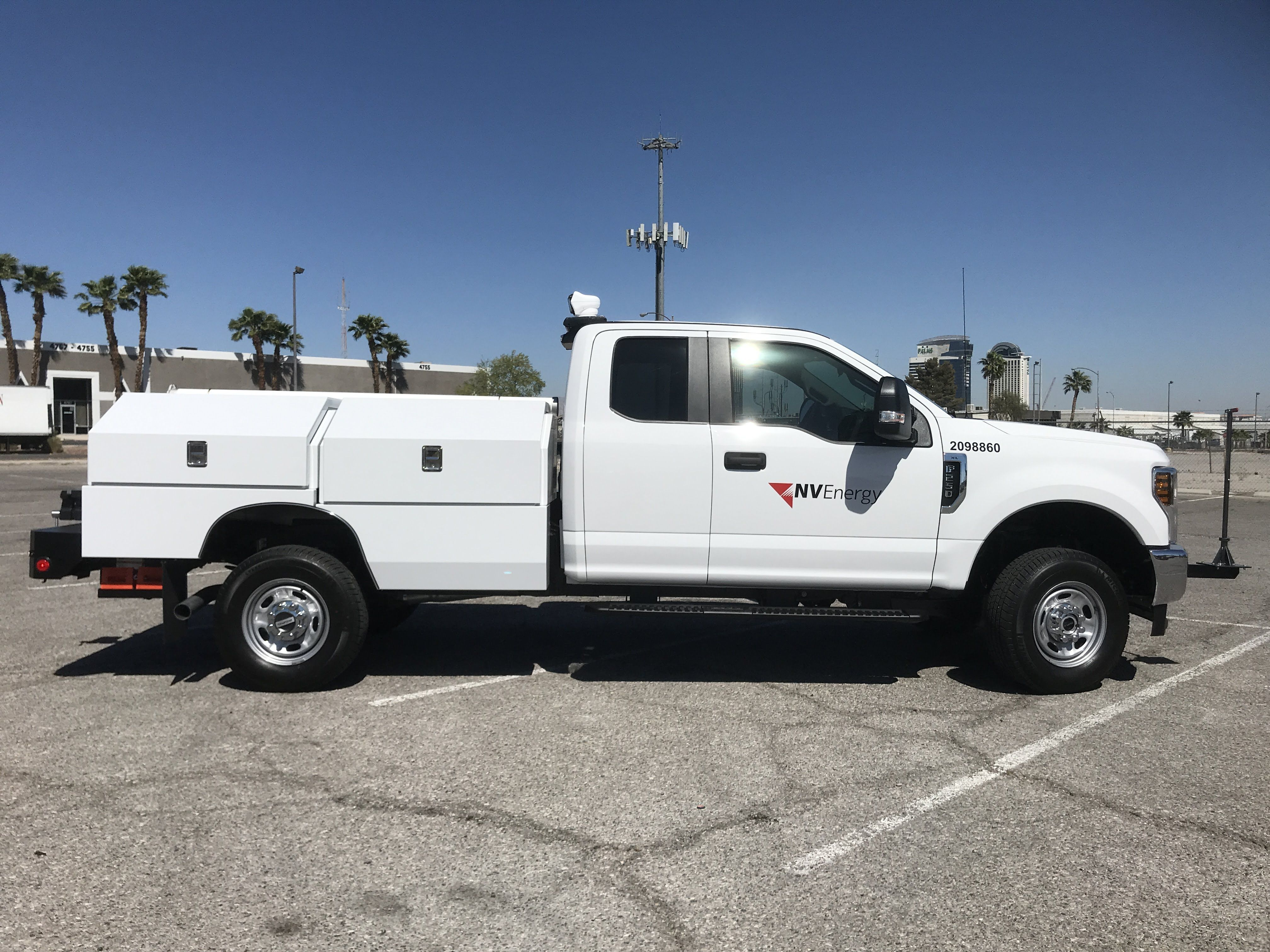 This Service Body Is The Perfect Small Package To Fit On The F250