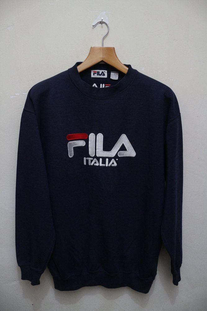 Vintage Edwin Sweatshirt Sports Wear Denim Wear Street Wear Round Neck Pull Over Made In USA Sweater Size L toarht2wuo