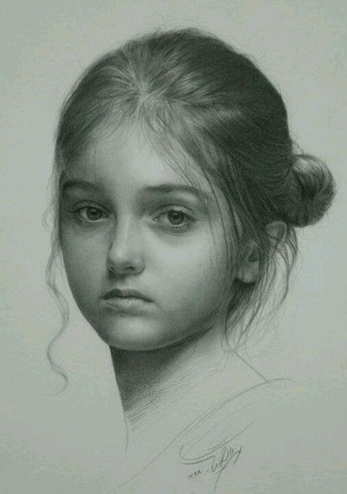Pencil drawing cannot make out the artists name i always feel guilty pinning an artists beautiful work without giving her him deserved credit
