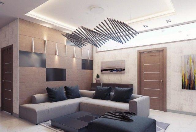 Palette de couleur salon moderne- froide, chaude ou neutre? - decoration de salon moderne