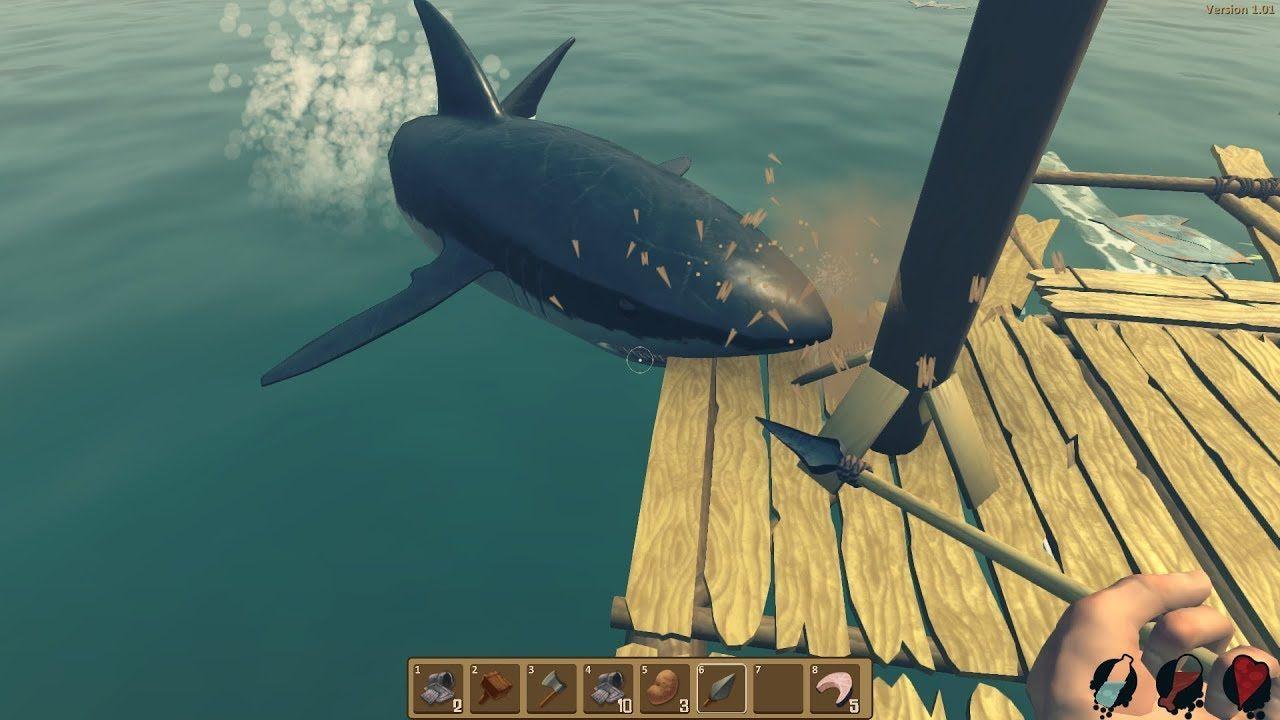 Raft Original Survival Simulator Android Gameplay 1 Rafting Latest Pc Games Free Pc Games