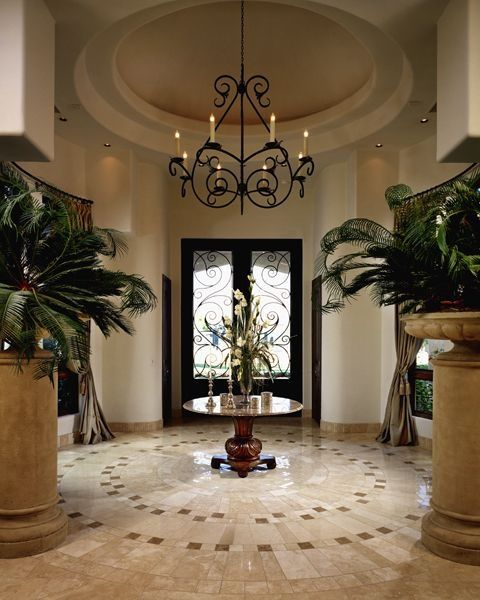 Stunning Entryway With Beautiful Double Front Door Entryways