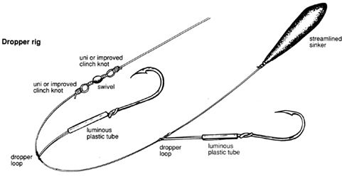 fishing rig diagrams Knots amp Rigs Dropper or Ledger