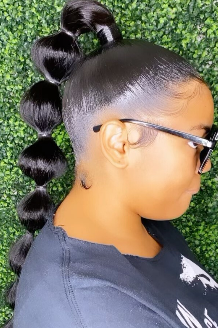 Black Prom Hairstyle in 2020   Black prom hairstyles, Hair ...
