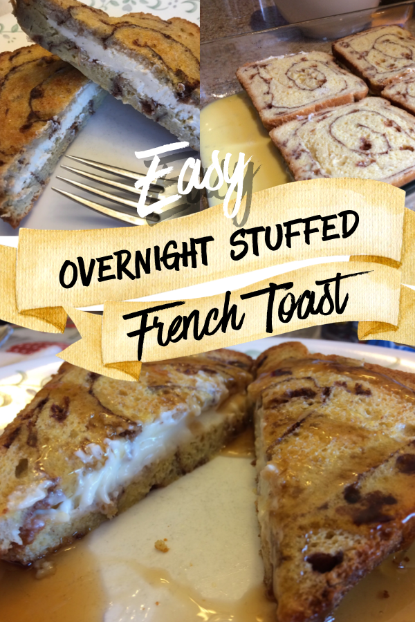 Easy Overnight Stuffed French Toast images