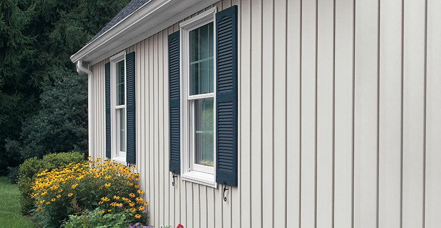 Alside products siding specialty siding vertical for Type of siding board