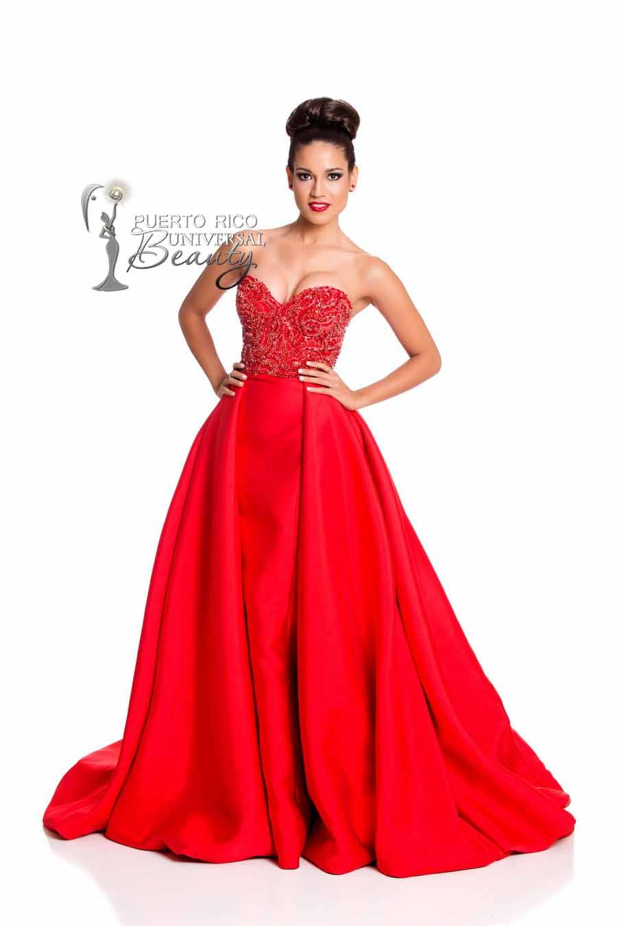 MISS UNIVERSE 2015 :: EVENING GOWN | Claudia Barrionuevo, Miss ...