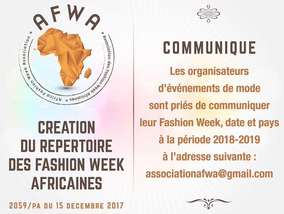 AFRICA FASHION WEEK ASSOCIATION(AFWA) by Isabelle Anoh | DN-AFRICA Magazine
