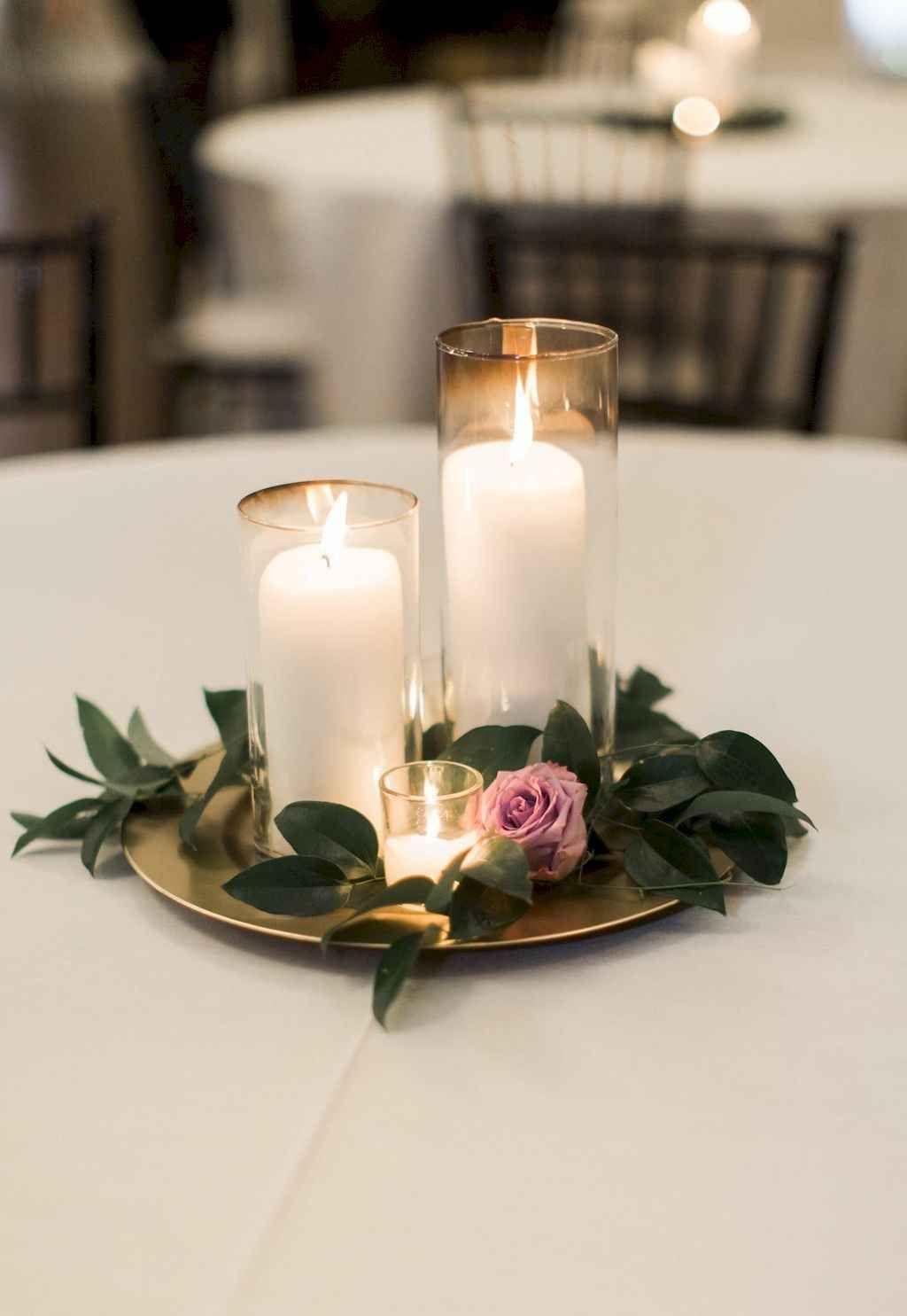 87 Simple And Easy Wedding Centerpiece Ideas Purple Wedding