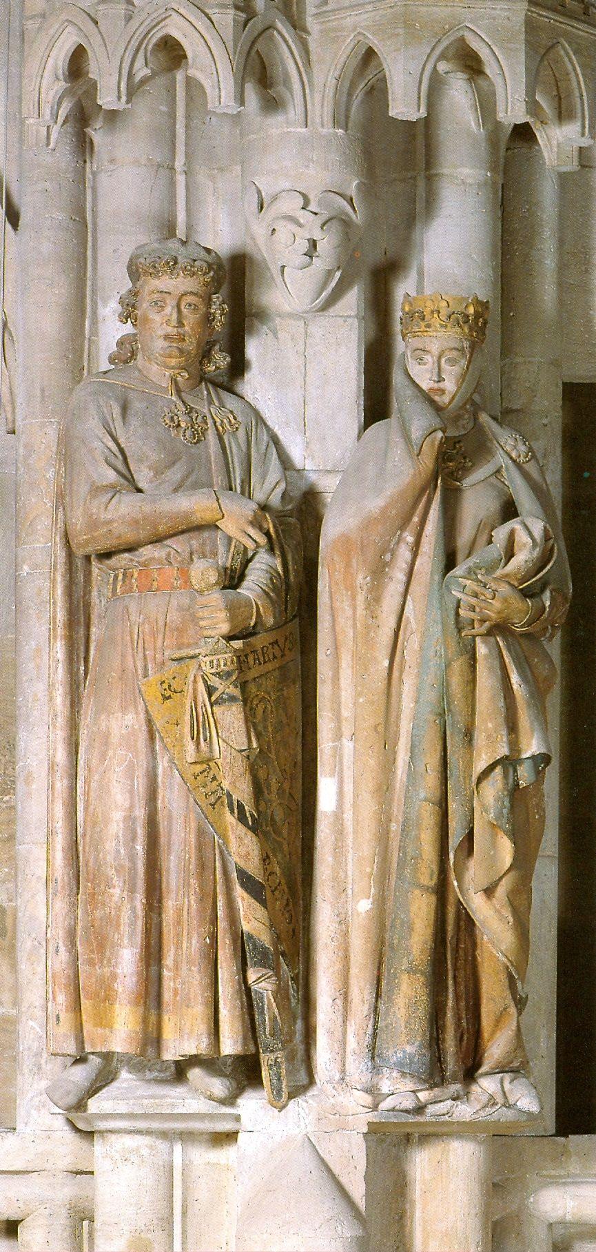 Ekkehard And Uta Naumburg Germany Gothic Art
