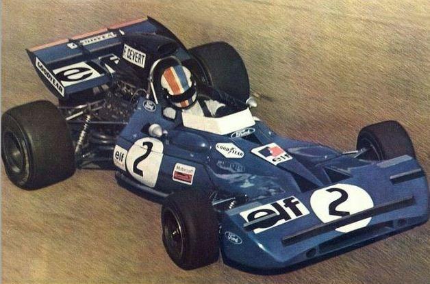 François Cevert / Tyrrell 002 / Ford