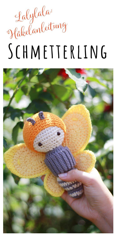Schmetterling häkeln - Amigurumi von lalylala | Amigurumi