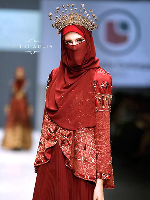Kivitz Fitri Aulia Nighttide Alteration On Jakarta Fashion Week 2016 Model Pakaian Model Pakaian Muslim Gaya Hijab
