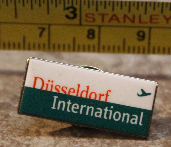 Dusseldorf International Germany Airport Pin