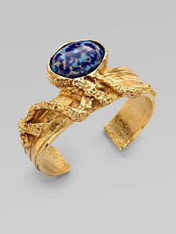 48884ecd597 Yves Saint Laurent Arty Ovale Cuff Bracelet | ☆•☆♥ My Style ...
