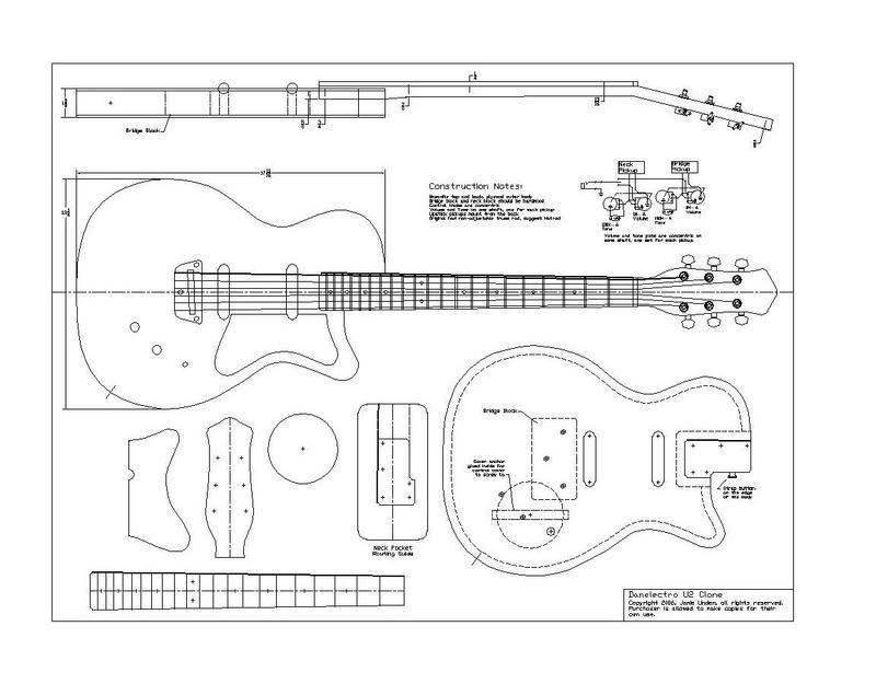 Danelectro U2 | Danelectro build | Pinterest | Gitarre