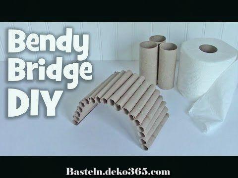 Wie Man Ein Hamsterspielzeug Macht Popsicle Stick Bridge