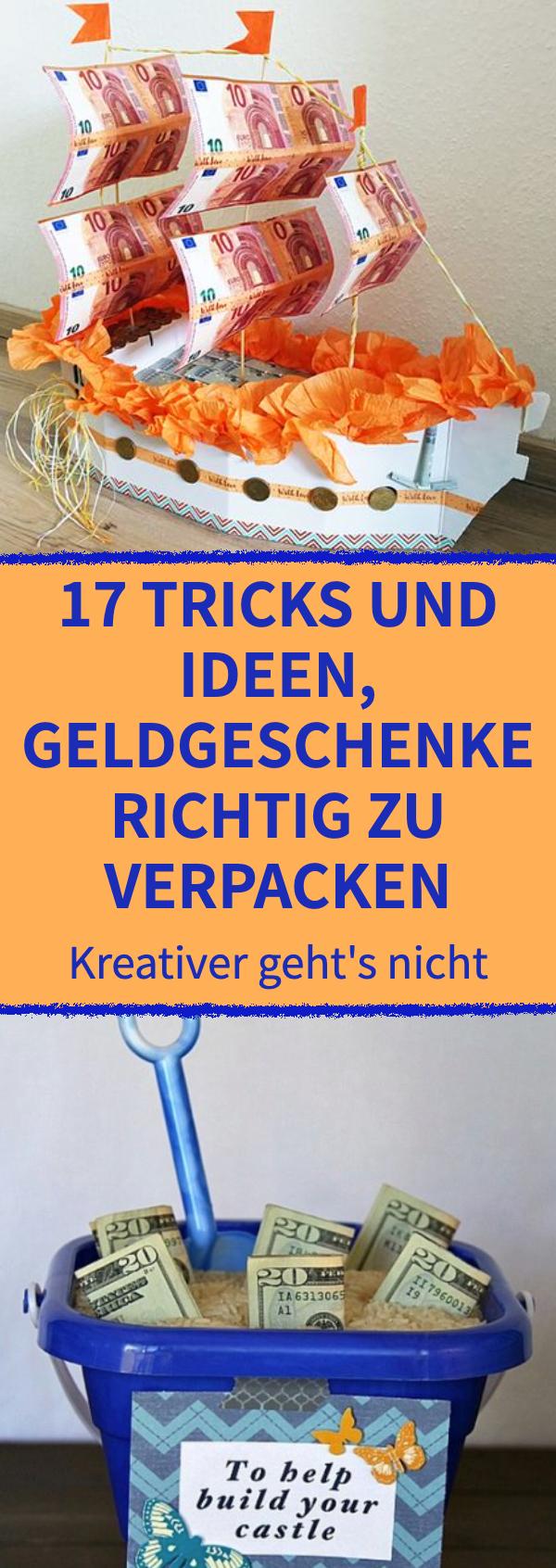 17 Tricks und Ideen, Geldgeschenke richtig zu verpacken