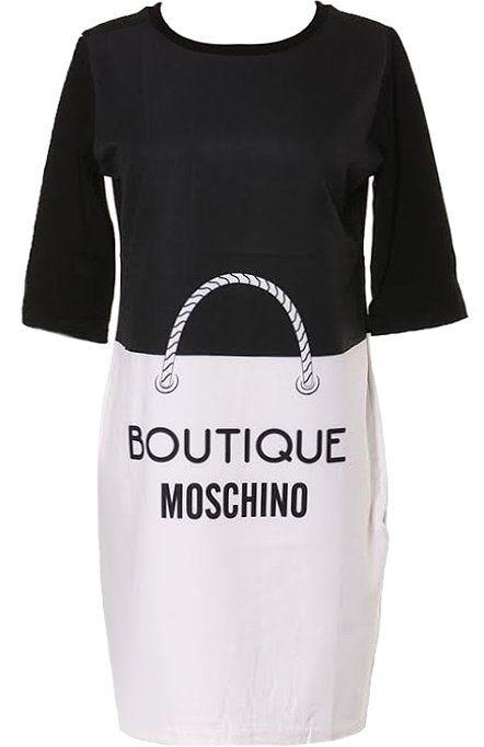 Moschino Handbag print dress fjPxhuTD14