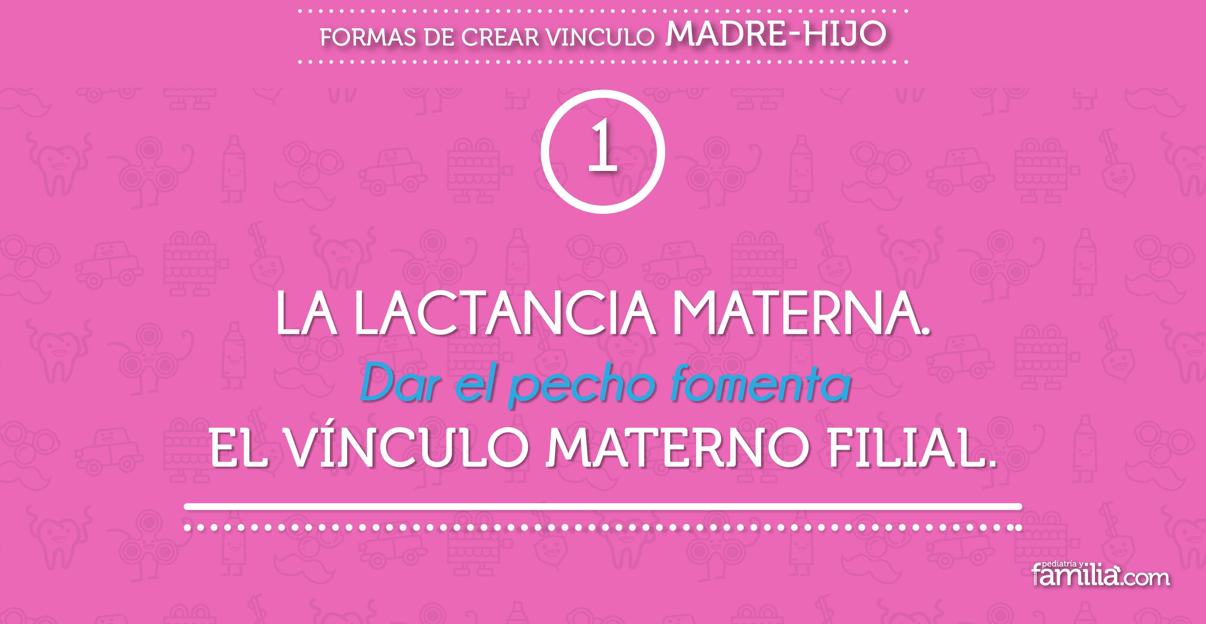 Pin by Pediatria y Familia on Formas de crear vinculo madrehijo