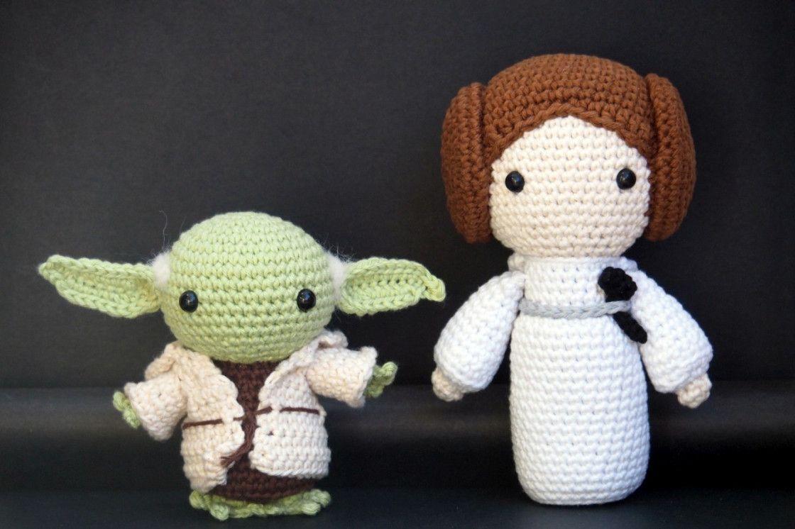 FREE AMIGURUMI PATTERN: Star Wars Yoda   Star wars crochet ...   746x1120