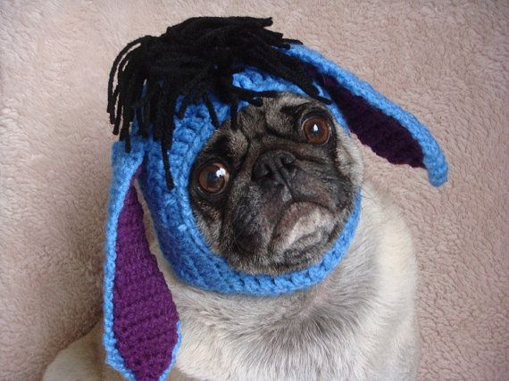 Donkey Dog Hat   Cat Hat   Made To Order by Sweethoots on Etsy b342d223d67