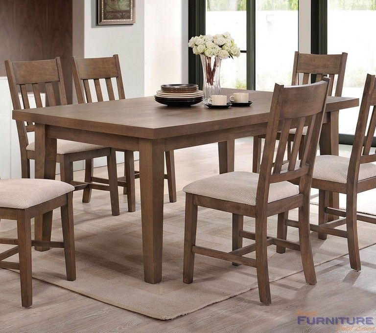 Acme Furniture Ulysses Dining Table Weathered Oak 73060 With Images Wood Dining Table Dining Room Sets Oak Dining Table