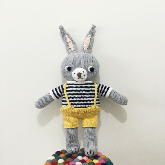 Rabbit Tobong Doll Knitting Pattern PDF by ssongssong on Etsy ...