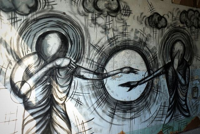 graffiti | tm | russische kaserne am schwanebecker chaussee - bernau