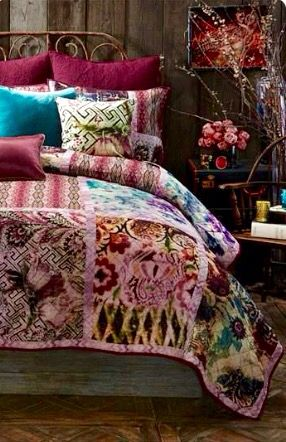 Boho Bedroom Bed