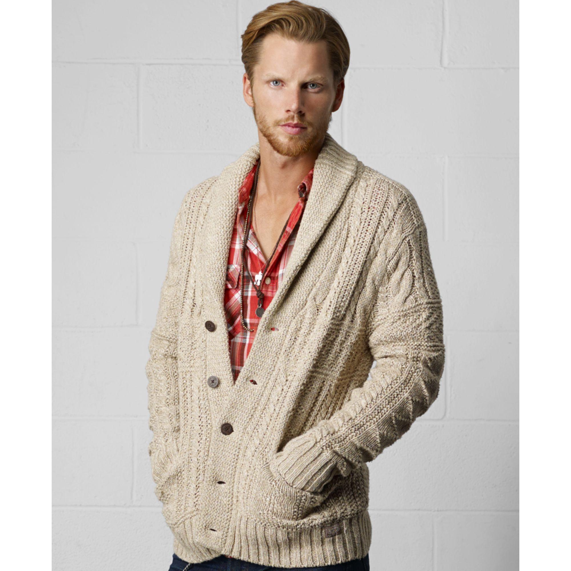 Denim & Supply Ralph Lauren Sweater Shawl Collar Cardigan ...
