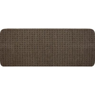 Multy Home Pindot Toffee 9 In. X 24 In. Stair Tread (12  Pack) MT1003502CM    The Home Depot