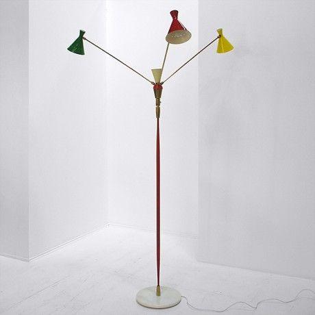 Tri Arm Floor Lamp Nichloas Alistair