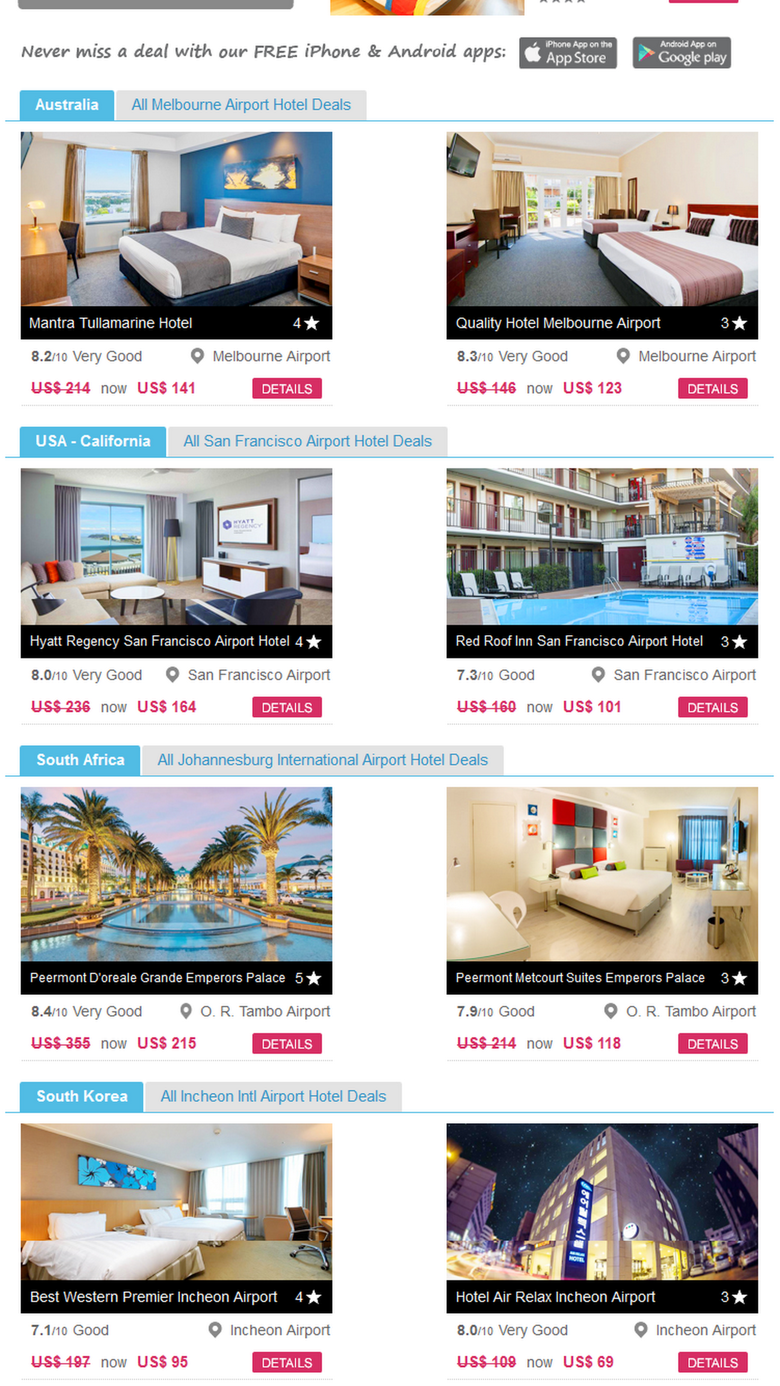 Pin by Mary Hurand on Fun places Hotel deals, Airport