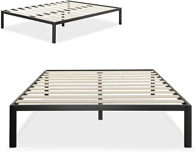 Amazon Ca Queen Platform Bed Frame Metal Beds Metal Platform