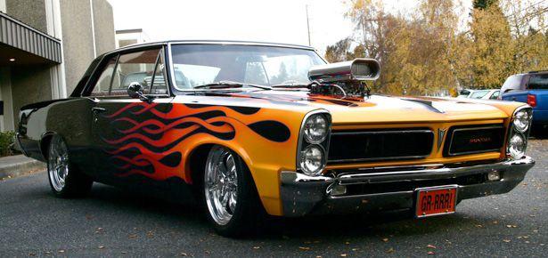 1965 Pontiac GTO 671 Blown 326ci  Love American Style
