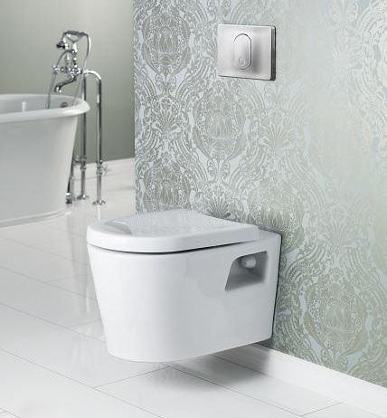 The Matrix Wall Hung Toilet Is Marketed As ADA Compliant And Has An  Adjustable Height Wall Control Panel.