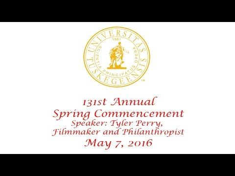 2016 Spring Commencement - Speaker: Tyler Perry