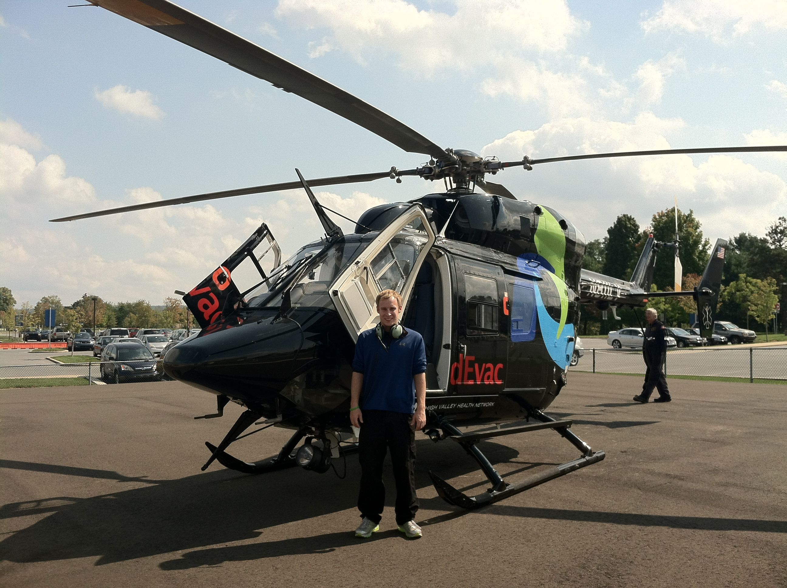 Flying with lehigh valley health networks medevac 1