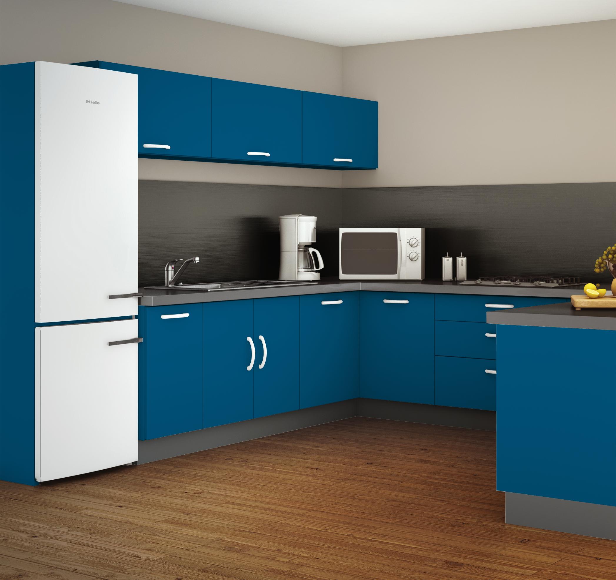 esprit zen simulation avec la teinte bleu tajine. Black Bedroom Furniture Sets. Home Design Ideas