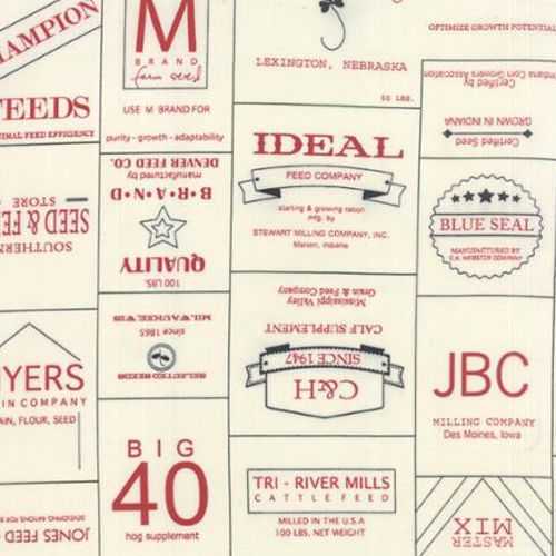 Feed Company Quilt Fabric Recipes The Church Cookbook By Yard Sewing Crafts #ModaFabrics