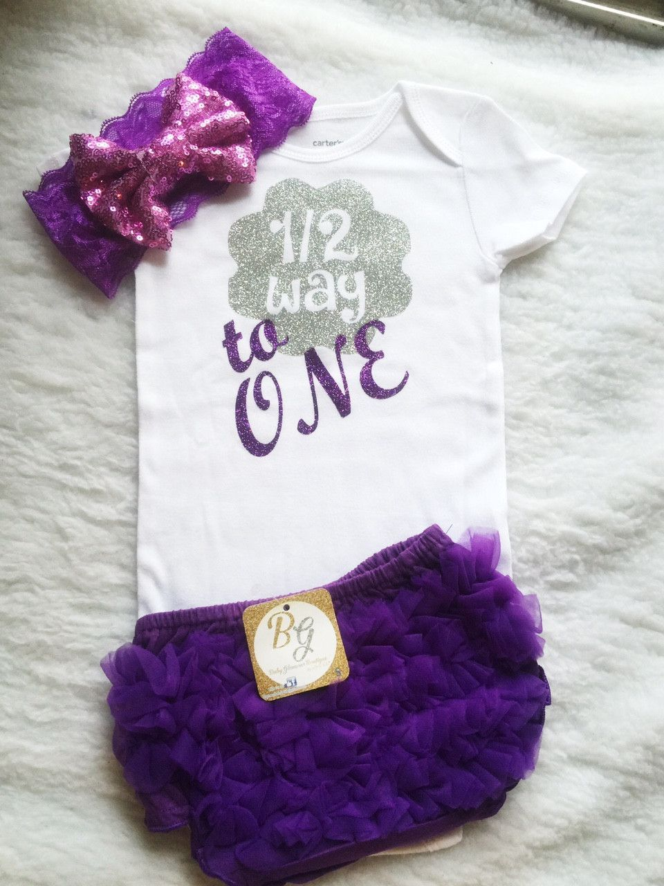 Onesies 9 Month & headband $20 +