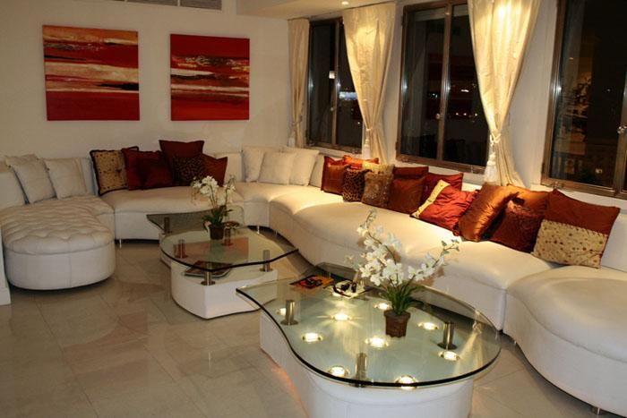 salon blanc et rouge romantique deco salon Pinterest Salons - deco salon rouge et blanc