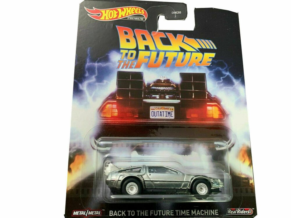 2020 Hot Wheels 1 64 Back To The Future Time Machine Diecast Model Djf49 Hotwheels Delorean In 2020 Hot Wheels Delorean Diecast