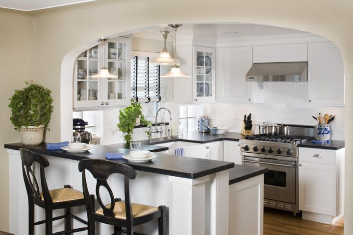 Shaker Style Cabinets Soapstone Countertops Farmhouse Sink U